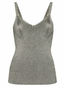 Mara Hoffman Tia ribbed vest top - Black
