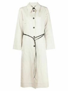 Dorothee Schumacher City Adventure midi coat - NEUTRALS