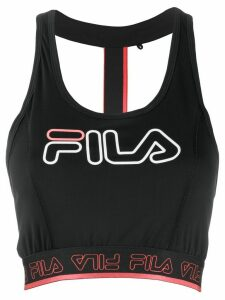 Fila printed vest top - Black