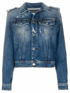 Department 5 stonewashed denim jacket - Blue