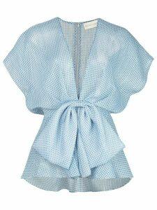 Sachin & Babi Estee wrap blouse - Blue