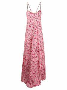 Etro paisley maxi dress - PINK