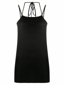 Lemaire layered slip top - Black