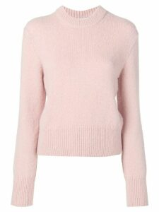 Ami Paris knitted jumper - PINK