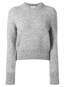 Ami Paris crew neck jumper - Grey