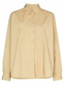 Nili Lotan Kelsey button-up shirt - NEUTRALS