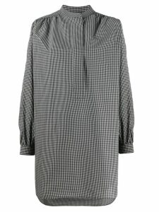 Sofie D'hoore gingham oversized shirt - Black