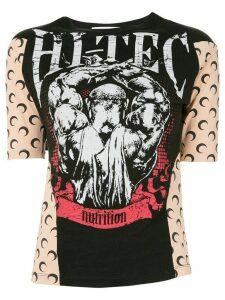 Marine Serre 'Hi-Tec' print T-shirt - Black
