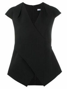 Safiyaa Tasha cap sleeve top - Black