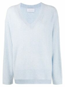 Christian Wijnants oversized long-sleeve jumper - Blue