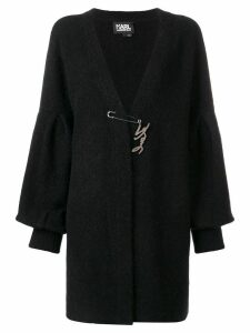 Karl Lagerfeld wide-sleeved cardigan - Black