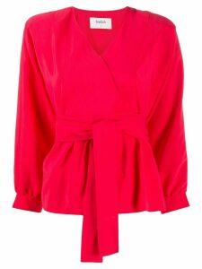 Ba & Sh Cola tie-waist blouse - Red