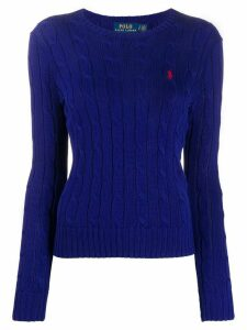 Polo Ralph Lauren cable knit jumper - Blue