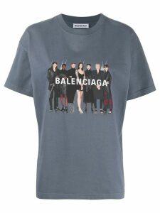 Balenciaga Real Balenciaga T-shirt - Grey