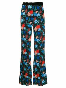 Mulberry Tessa floral trousers - Black