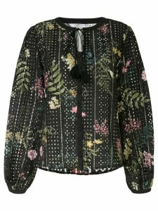 We Are Kindred floral long-sleeve blouse - Black