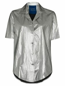 Simon Miller Dade metallic shirt - Grey