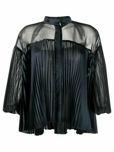 Sacai pleated blouse - Black