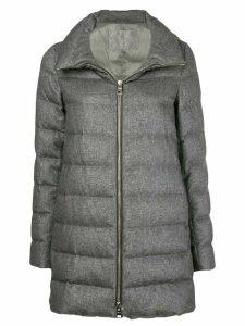 Herno zipped padded jacket - Grey