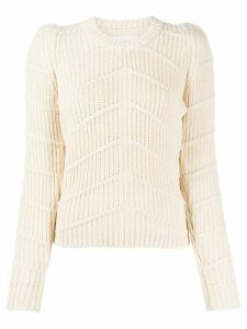 Ba & Sh Dabney chunky-knit jumper - NEUTRALS