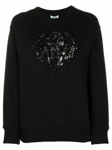 Kenzo Tiger beaded sweatshirt - Black