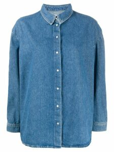 Ba & Sh Ivona denim shirt - Blue