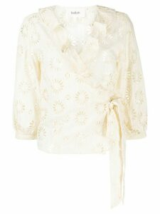 Ba & Sh Bardo embroidered blouse - NEUTRALS