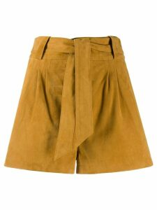 Ba & Sh Liam belted shorts - Brown