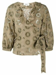 Ba & Sh Bardo embroidered blouse - Green