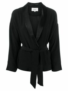 Ba & Sh Sugar tie-waist jacket - Black