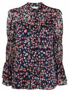 Michael Michael Kors floral print shirt - Blue