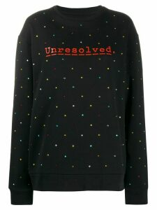 Paco Rabanne logo sweatshirt - Black