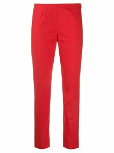 Piazza Sempione low-rise slim fit trousers - Red
