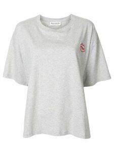 Être Cécile Lips Patch Juliette T-shirt - Grey