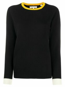 Chinti and Parker colour block jumper - Black