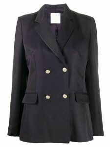 Sandro Paris tailored double-breasted blazer - Blue