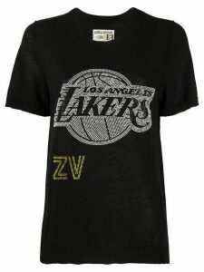 Zadig & Voltaire x NBA Lakers crew neck pullover - Black