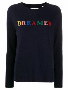 Chinti and Parker Dreamer intarsia knit jumper - Blue