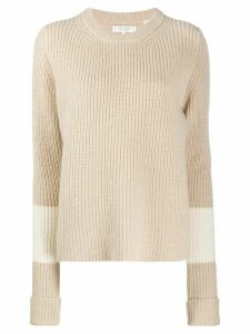 Chinti and Parker Turned Cuff jumper - NEUTRALS