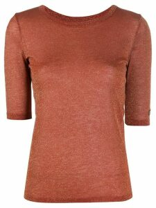 See by Chloé fine knit top - Brown