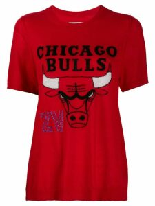 Zadig & Voltaire x NBA Chicago Bulls short sleeve pullover - Red