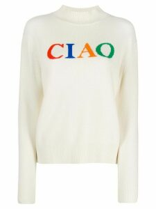 Chinti and Parker Ciao turtleneck jumper - NEUTRALS