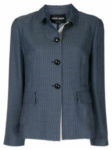 Giorgio Armani loose fit jacket - Blue
