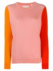 Chinti and Parker colour block jumper - PINK