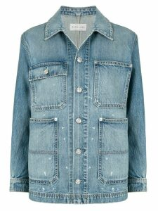 Slvrlake long sleeve denim shirt - Blue