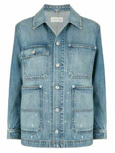 Slvrlake long sleeve denim shirt - Blue