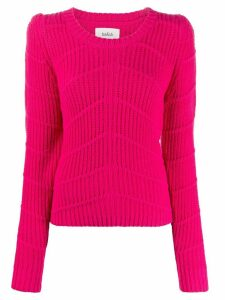 Ba & Sh ribbed structured jumper - PINK
