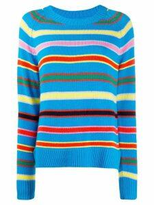 Chinti and Parker Multi-Stripe cashmere jumper - Blue