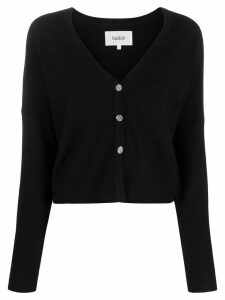 Ba & Sh cropped knit cardigan - Black