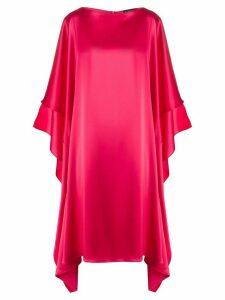 Gianluca Capannolo Olga silk dress - PINK